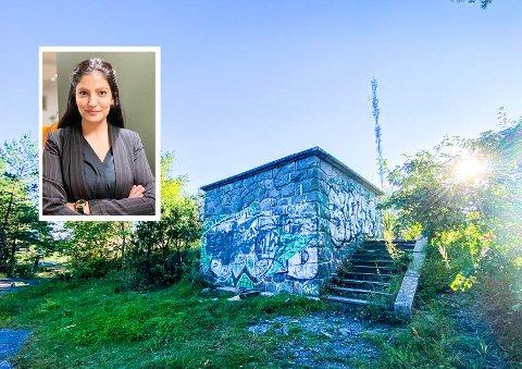 OPPRØRT: Nadine fra Sp mener politiet trenger mer penger og flere ansatte slik at blant annet forebyggende avdeling fortsatt kan være tett på ungdomsmiljøene i bydelen.