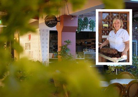 STENGT: Gourmet Allé holdt bare åpent i litt over ett år. Nå har en ny eier tatt over og håper å åpne i begynnelsen av desember.