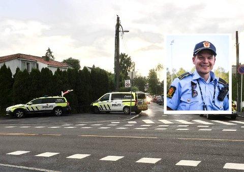 FØLGER OPP UNGDOMMEN: Fredrik Eikeseth er avdelingsleder ved forebyggende avdeling på Manglerud. Han forteller de nå følger opp ungdommene fra tyveriene i Bydel Nordstrand i starten av juli.