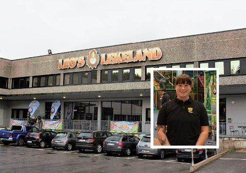 LEOS LEKELAND: På regnværsdager er det fint å finne på innendørsaktiviteter slik som her hos Leos Lekeland.