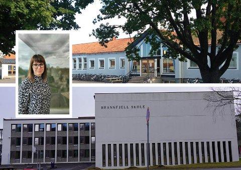 SMITTE: Både Ekeberg skole og Brannfjell skole har sendt flere elever i karantene