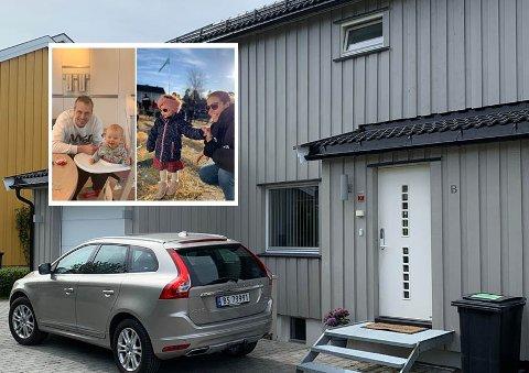 Vegg i vegg med Ekebergsletta fant  Bård, Helene og de to barna Amund og Oda drømmeboligen i fjor.