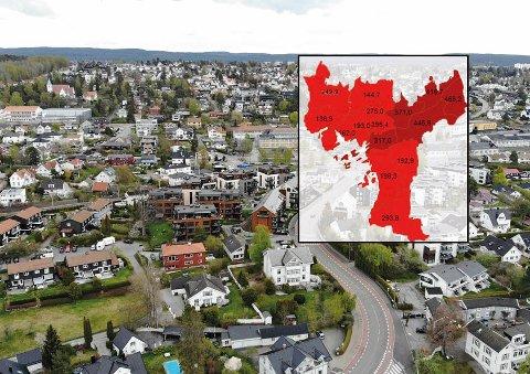 Smitten i Oslo har skutt i været. I Bydel Nordstrand er smittetrykket nå 147,5 prosent høyere enn uken før vinterferien.