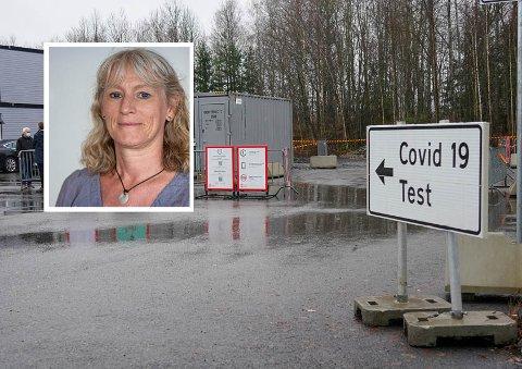 Bydelsoverlege Anne Stine Garnes sier de har kontroll på smitten i bydelen, selv med høye smittetall den siste tiden.