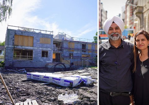 Surjinder Singh Brar og Rumeet Brar kaller boligdrømmen på Brannfjell for et mareritt. Nå håper de på en snarlig løsning i saken.