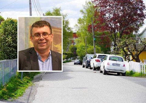 Stian Haraldsen (H) fra Nordstrand håper å få med seg alle lokalpolitikerne til å endre kommunens regler, slik at kommunen selv tar fortuas-regningen naboene nå får.