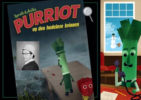 PURRIOT: Forfatter Bjørn Rørvik byr på detektivhistorier på Fyrverkeriet bibliotek