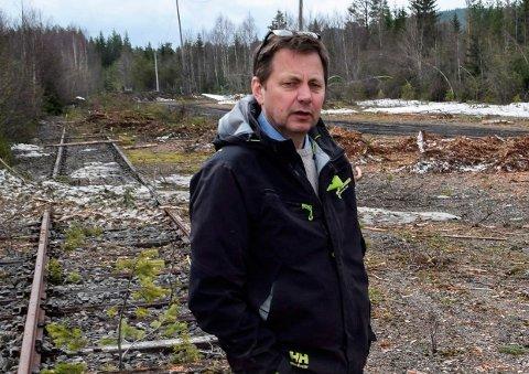 FIKK «KONKURRENT»: Regionsjef i Nortømmer Knut Esbjørnsen opplevde støtte fra flere hold om en tømmerterminal på Røste. Reinsvoll næringspark er blitt et annet alternativ.