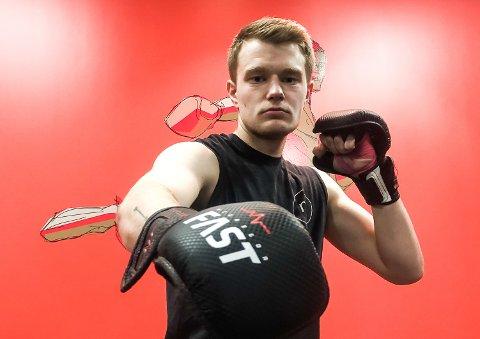 KLAR FOR KAMP: Harald Korshavn debuterer i MMA i Birmingham lørdag 9. oktober - en kamp som sendes direkte påOA-TV.