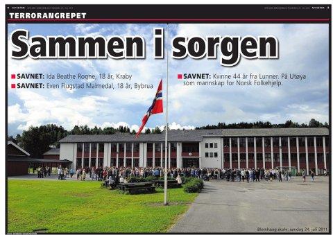 FÅ KRITISKE SPØRSMÅL: Medieforsker Jens Barland påpeker at norske medier var emosjonelt påvirket av terroren, og at det derfor tok lang tid før kritiske spørsmål ble stilt i etterkant av 22. juli.