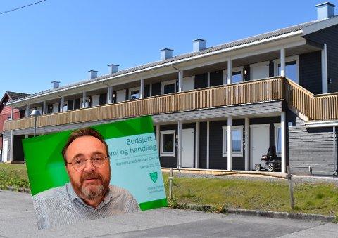 DYRT: – Det er ikke noe å legge skjul på at det er dyrt for kommunen å sitte på disse leilighetene uten at de brukes, sier kommunedirektør Ole Magnus Stensrud.