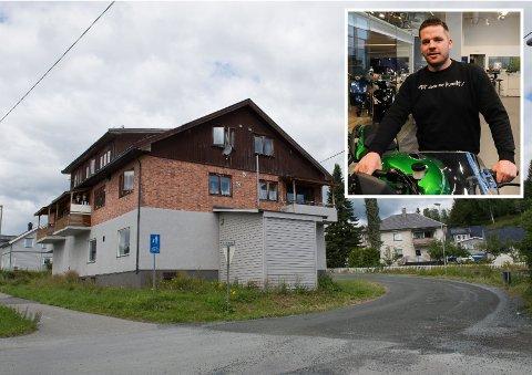 BLIR LAGER: Det gamle bakeriet i Hunndalen har stått tomt lenge. Nå skal Per Harald Øyhus leie det ut som lager.