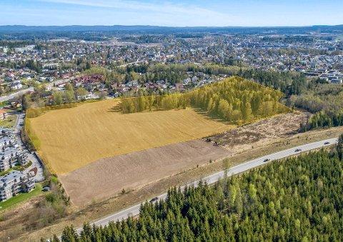 DISKUTABELT: Solberg-området i Ås, men med postadresse Ski, skaper fremdeles stor debatt.