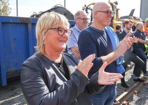 Jane Sætre, leder av Norsk Jernbaneforbund, frykter for at en privatisering vil svekke sikkerheten på jernbanen.