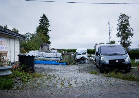 DRØMMEHUS: Eieren ønsker å bygge et hus på nesten 400 kvadratmeter på eiendommen i Oppsandveien