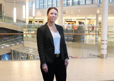 LEDIGE LOKALER: - Vi jobber videre med en løsning for lokalene som var tiltenkt tannlegene sier senterleder, Marianne Thoresen-Larsen.