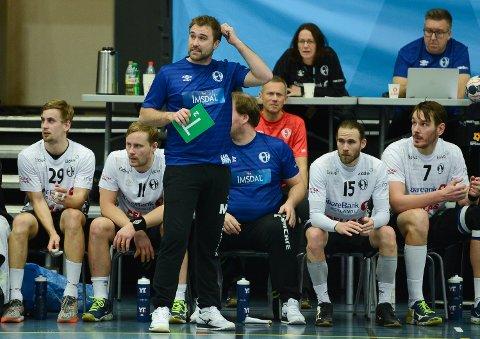 Elverum Håndball Herrer mot ØIF Arendal i Terningen Arena onsdag kveld. Elverum tapte 31-30 mot sørlendingene
