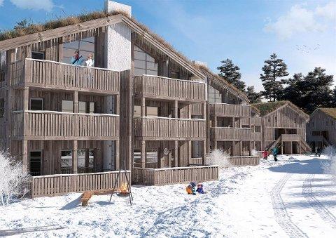 MANGE SOLGT: På under ett døgn ble 13 av de 16 første leilighetene i Trysiltunet revet unna.