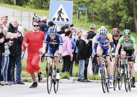 STENGTE VEIER: Tour of Norway fører til stengte veier.