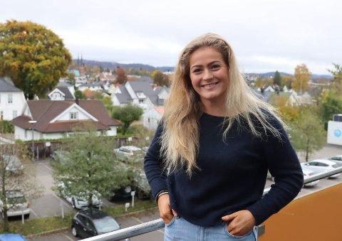 Andrea Brekke Karlsen gleder seg veldig til å spille kvalifisering til Eliteserien med Gjerpen.