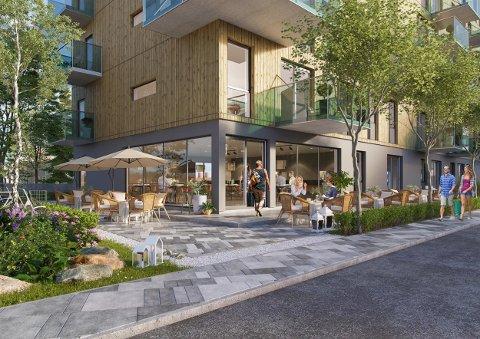 NYTT PROSJEKT: Utbyggerne bak Husebyenga Terrasse har lansert nye planer for tomta i Brumunddal.