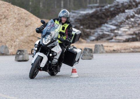 Gratis vårtrening for de som kjører motorsykkel, enten den er lett eller tung. (arkivfoto)