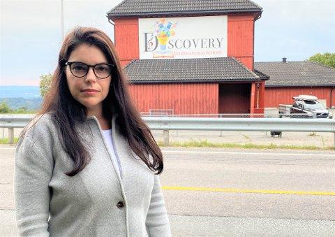 FIKK NOK: Dariane Hanssen forlater Discovery International School etter store uenigheter med måten skolen drives og ledes på.