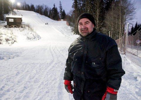 Drømmer: Ullensaker skiklubb drømmer om felles anlegg for alle idrettene i klubben, primært her i Rambydalen, sier Ole Gunner Kjos.