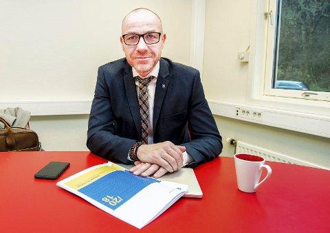 Bestilte rapport: Ordfører Tom Staahle (Frp) i Ullensaker kommune har bestilt en såkalt juridisk betenkning fra advokatfirmaet Schjødt. FOTO: VIDAR SANDNES
