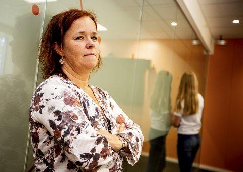 – VÅKN OPP: Det er den tydelige tilbakemeldingen leder Aud Haugbjørg i MST-teamet i Lillestrøm har til foreldrene på Romerike. Ofte ser de foreldre betale ungdommens narkogjeld for å bli «kvitt problemet». FOTO: Tom Gustavsen