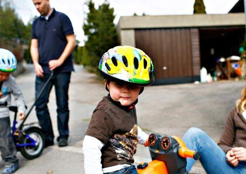 ØNSKER PÅBUD: I 2018 brukte 63 prosent av syklister hjelm i Norge.