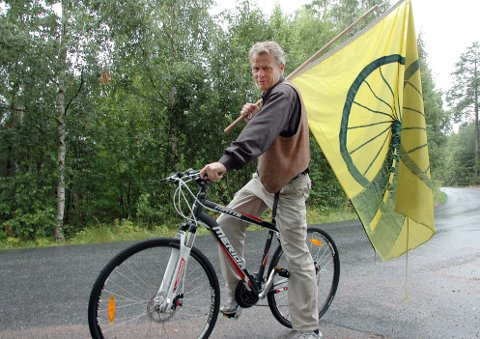SØKER TRYGGHET: Bård Løtveit fronter Tryggere sykling. Arkivfoto: Tryggere sykling 2011