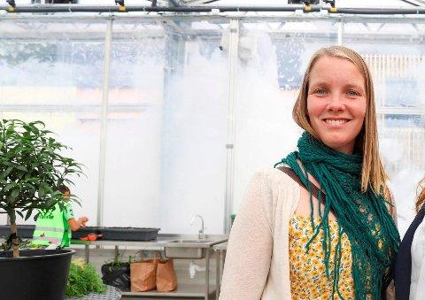 BLI EN KLIMAHELT: Miljørådgiver Bente Støa i Røyken kommune har godt håp om at mange vil bli med i kampanjen for å redusere klimautslipp lokalt.