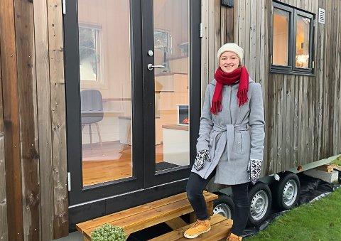 EGET HUS: Vilde Eidhamar kjøpte seg sin første bolig før hun fylte 18 år.
