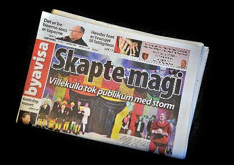REDUSERER: Byavisa Sarpsborg vil dukke opp sjeldnene i postkassa til sarpingene.