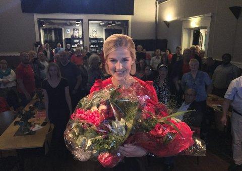 INNE PÅ STORTINGET: Elise Bjørnebekk-Waagen. er klar for innsats på Stortinget. foto: Trine Bakke Eidissen
