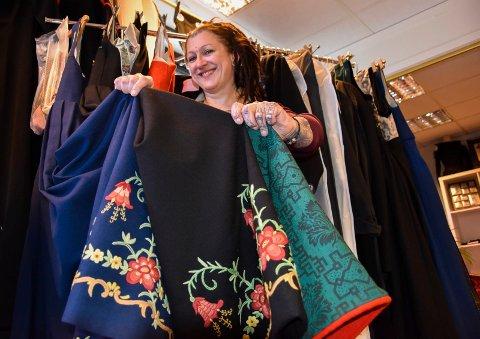Bunad på bunad: I fire år har Bianca Irene Karlsen sydd bunader. Tiden frem til 17.mai er hektisk. – Jeg liker å jobbe under press, sier hun.