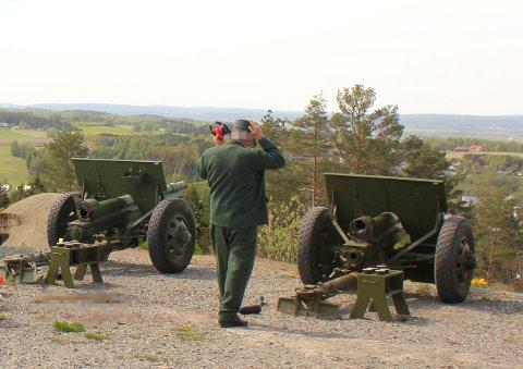 Disse to kanonene ble brukt under saluttulykken på Høytorp fort 17. mai i år.
