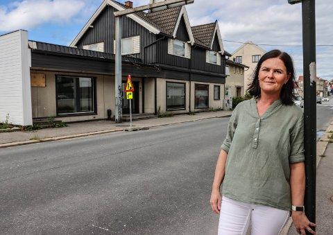 MONICA BLIR KLESVASKER: Monica Aspelund starter Klevaskhjelpen i Kirkegata 22 om kort tid.