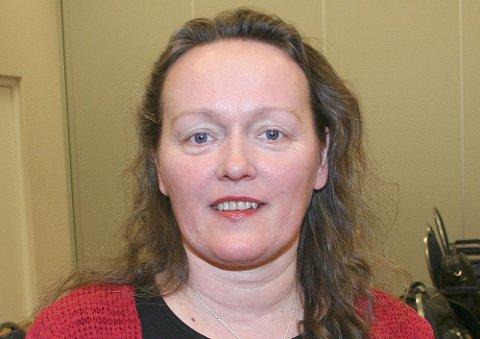 Gunnvor Sunde er 1. kandidat for Partiet Sentrum i Sogn og Fjordane.