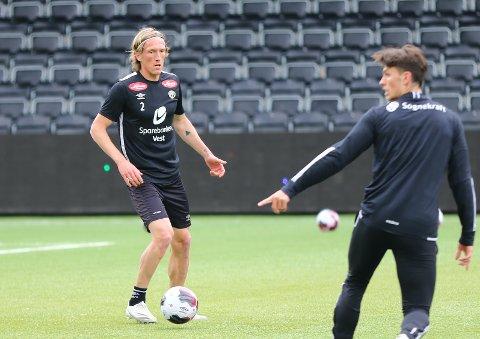 TILBAKE: Per-Egil Flo (32) startar sin første Sogndal-kamp på nesten 3000 dagar i onsdagens heimemøte med Fredrikstad.