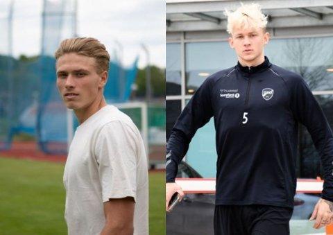 Sebastian Sebulonsen t.v. og Birk Risa.