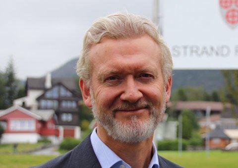 ØKT STØTTE: Kommunedirektør Ketil Reed Aasgaard vil doble støtten til årets TV-aksjon.