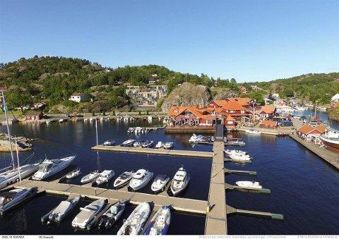 UTGANGSPUNKT: Valle i Bamble er utgangspunkt for mange hytteeiere i Kragerø.