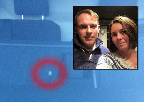 PÅKJENNING: Konsekvensane av å leige ein bil  blei ei stor  økonomisk påkjenning for Espen Kirkhaug og Marita Risvik-Storhaug.