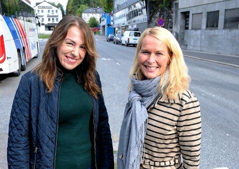 YDMYK: Emilie Schäffer, gruppeleder for Høyre, skulle ønske at ordfører i permisjon, Hedda Foss Five, hadde vært enda mer ydmyk i Kontrollutvalget. Her er de sammen ved en tidligere anledning.