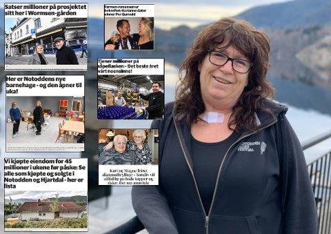 EVA: Aller mest lest i påskedagene var Eva Rønningens (stort bilde) egen fortelling om sin dramatiske sykdom - og om hvordan hun kom til hektene igjen. Men Telens lesere har også satt stor pris på mange av de andre historiene (innfelt). Lenger ned i saken kan du klikke på lenken til alle samme - og lese de om igjen - eller for første gang om du gikk glipp av de.