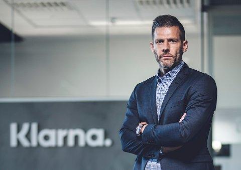 Thomas Elvestad, markedsdirektør i Klarna Norge