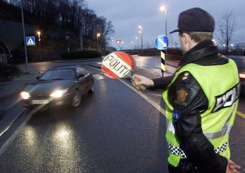 Politiet gjennomførte mandag storkontroll av kjøretøy i Rauma.