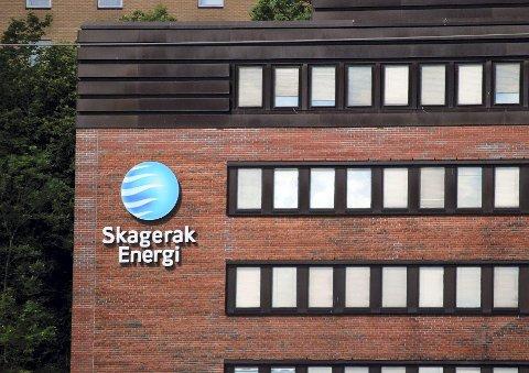 Tar tak: Skagerak Energi tar hånd om strømnettet.